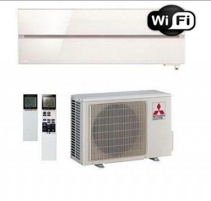 Oro kondicionierius/šilumos siurblys oras-oras Mitsubishi MSZ-LN35VGW/MUZ-LN35VGHZ (balta spalva) (-25°C)