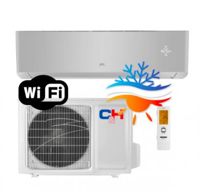 Oro kondicionierius/šilumos siurblys Cooper&Hunter SUPREME SILVER Inverter CH-S12FTXAM2S-SC (-30°C)