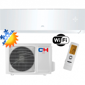 Oro kondicionierius/šilumos siurblys Cooper&Hunter SUPREME WHITE Inverter CH-S09FTXAM2S-WP (-30°C)