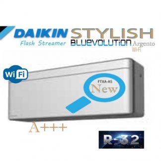 Oro kondicionierius/ šilumos siurblys (oras-oras) Daikin STYLISH Split Inverter FTXA20BS/RXA20A (-15°C)